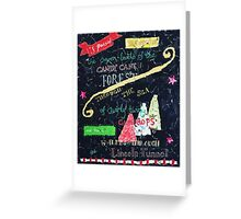 Christmas Elf Collage Greeting Card