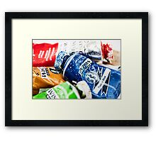 Oils Colors In Tubes W&N Winton Framed Print