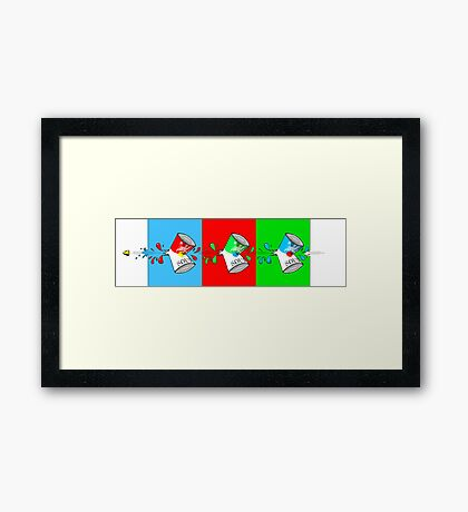 How to Open Three Cans of Soup Framed Print