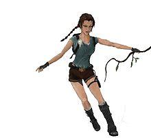 Lara Croft  by sammyuel