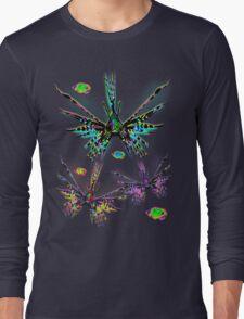 Lionfish Psychedelic Parade Long Sleeve T-Shirt