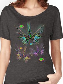 Lionfish Psychedelic Parade Women's Relaxed Fit T-Shirt