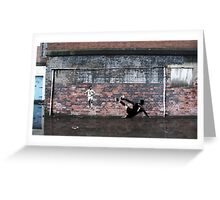 Liverpool FC - We Won It Five Times Graffiti Greeting Card