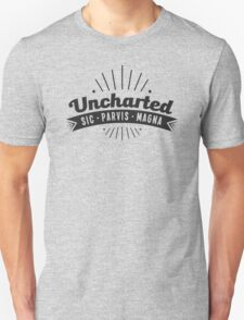 Uncharted (black) Unisex T-Shirt