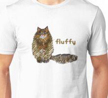 Fluffy Cat Too Unisex T-Shirt