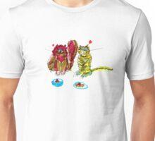 Dinner Cats Unisex T-Shirt