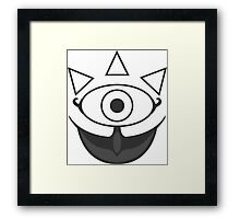Gossip Stone - Zelda Framed Print