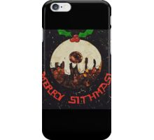 Christmas Star Wars Collage Humour iPhone Case/Skin