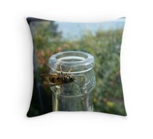 Insect for sweets Throw Pillow