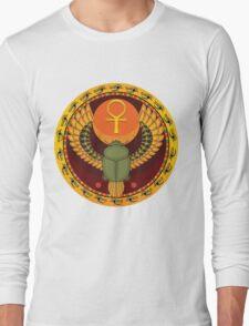 Egyptian sacred bug Long Sleeve T-Shirt