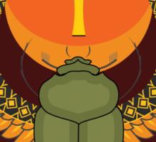 Egyptian sacred bug Sticker