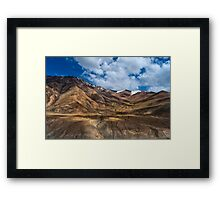 Nubra Valley-4/2011 Framed Print