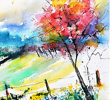 watercolor 119050 Photographic Print