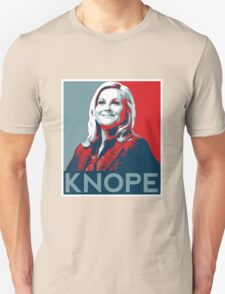 Knope Poster - white lower layer Unisex T-Shirt