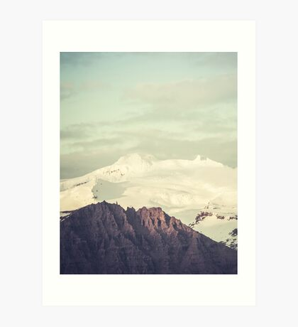 Two Mountains Art Print