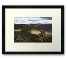 Big Shadow Framed Print