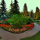 English Gardens by Larry Trupp