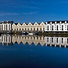 Reflections Galway Harbour. by JoeTravers