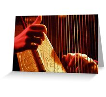 Hark! A Harp... Greeting Card