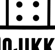 Dojikko/Clumsy Band aid print Sticker