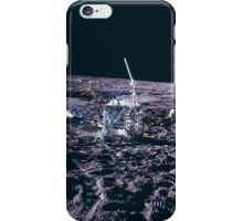 Apollo Archive 0034 Moon Experimental Equipment on Lunar Surface iPhone Case/Skin