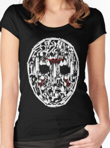 Jason Vorhees Mask Women's Fitted Scoop T-Shirt