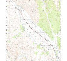 USGS Topo Map Oregon Jamieson 282611 1950 62500 by wetdryvac