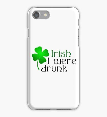 Ireland Beer Drunk Whiskey iPhone Case/Skin