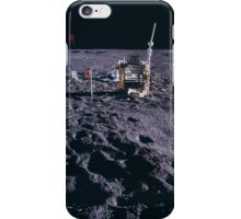 Apollo Archive 0066 Moon Experimenta Equipment Spread Out on Lunar Surface iPhone Case/Skin