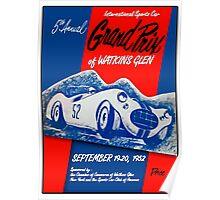 Vintage Poster - Watkins Glen - 1952 Poster