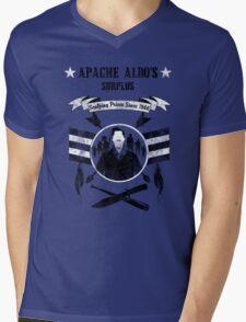 Apache Aldo's Surplus Store- Inglourious Basterds Mens V-Neck T-Shirt