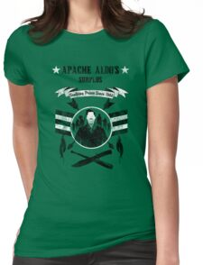Apache Aldo's Surplus Store- Inglourious Basterds Womens Fitted T-Shirt