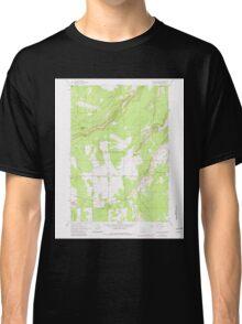 USGS Topo Map Oregon Henkle Butte 280182 1962 24000 Classic T-Shirt