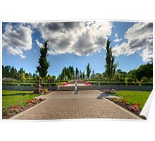 Mausoleum Walkway Poster