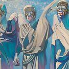 Angels. (Original sold) by Tatyana Binovskaya