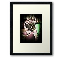 Reading Rosie Framed Print