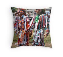 Grass Dancers Throw Pillow