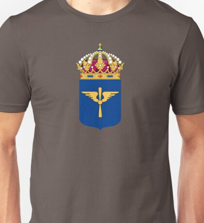 Swedish Air Force - Flygvapnet - Coat of arms Unisex T-Shirt