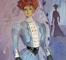 The Edwardian Wasp Waisted Fashion by Marie Theron