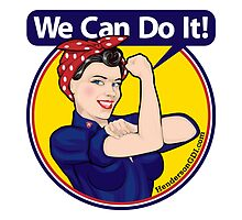We Can Do It Sticker by HendersonGDI