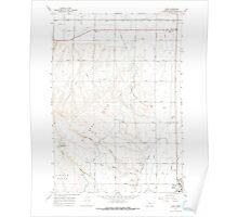USGS Topo Map Oregon Cairo 279231 1967 24000 Poster