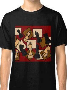 Awesome Chess Piece Art Abstract Original Classic T-Shirt