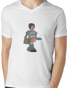Lady Killbot Mens V-Neck T-Shirt