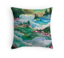 Creation Day of Beauty Throw Pillow