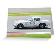 1961 Lotus Elite Greeting Card