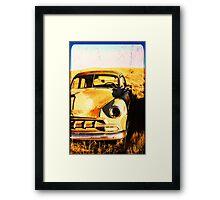Old Vintage Car Framed Print