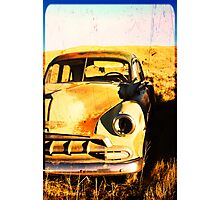 Old Vintage Car Photographic Print