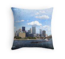 The City of Bridges Throw Pillow