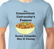 connecticut university's mac and cheese Unisex T-Shirt