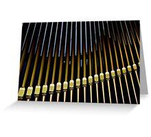Organ pipes #2 Greeting Card